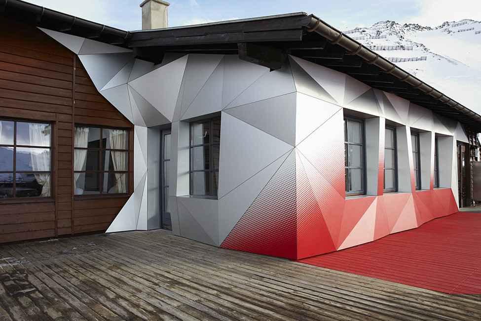 Объёмный Вентилируемый фасад